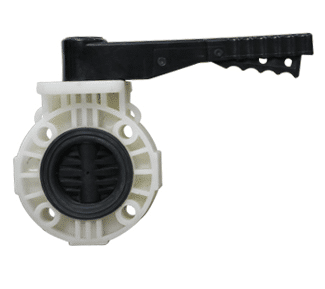 PP Butterfly Valve, PP Solid Type Ball Valve